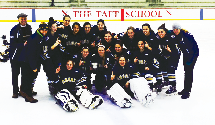 Choate emerged victorous at the Patsy Odden Tournament, edging Kent in overtime, 2-1, in title game