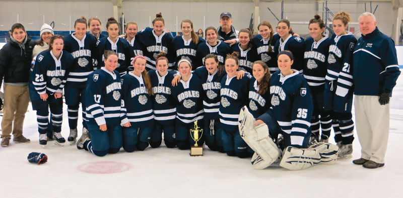 The Nobles Girls won the Harrington Tournament again, knocking off Westminster, 3-0, in the title game.