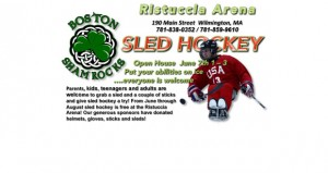 Boston Shamrocks to host Sled Hockey open house