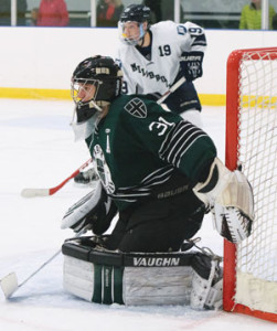 BROOKS GOALIE Max Prawdzik has been superb so far in leading Brooks to an 8-0-1 start.